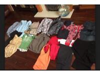 Large bundle of clothes, 2 large bags Mens Ladies Boys