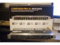 Behringer MDX2600 Compressor / Limiter