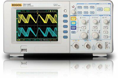 Rigol Ds1102e Digital Oscilloscopes - Bandwidth 100 Mhz Channels 2