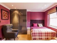 newly refurnished studio flat available now ~~long and short term~couple welcome~en-suite bathroom ~