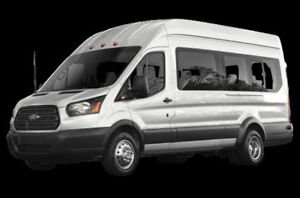 2016 Ford Transit T-350 DIESEL -- 15 PASSENGERS -- EXTENDED -- H