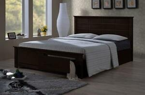 Wooden Storage Platform Bed frame & Serta Queen Mattress Combo – Save over $1000!  Now offering an unbeatable deal!