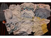 bany boys newborn first size bundle of clothes