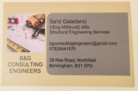 B&G Structural Engineering services