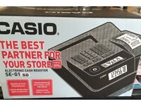 Brand new Casio SE-G1 till for sale