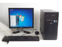 HP (Mini PC, Dual Core, Monitor, K/M, Acdsee 2018, Office 2010) All In One, Desktop PC, Computer