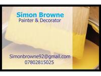 Simon Browne decorating