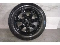 ALLOYS X 4 OF 19 INCH GENUINE DISCOVERY FULLY POWDERCOATED INA STUNNING HIGH GLOSS BLACK NICE ALLOYS