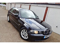 Bargain 2004 53 Bmw 316 Ti Compact Manual Leathers