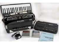 Zerosette MIDI Accordion - 4 Voice Musette - with Free Roland Ra-90 Sound & Rhythm Module