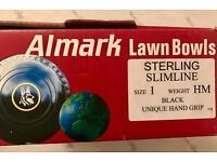 LAWN BOWLS - SIZE 1 - STERLING SLIMLINE