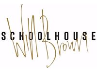 FRONT OF HOUSE STAFF TO JOIN THE SCHOOLHOUSE, COMBER