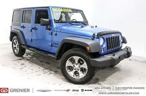 2015 Jeep WRANGLER UNLIMITED Sport*2 toit, Mags*
