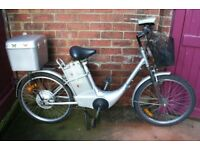 Electric Bike For Sale {runs but selling as spares or repair}