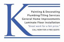 Plumber/Tiler/Painter/Decorator/General-Purpose Handyman - Glasgow and Surrounding Areas -Free quote