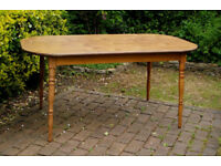 Dinette - Large Formica Top Dining Table to seat 4-6