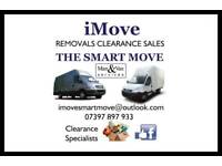 Man & Van Services, Removals, Clearance