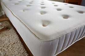 King Size, ORTHOPEDIC BACK PAIN SUPPORT, Extra Firm With Springs. Double,