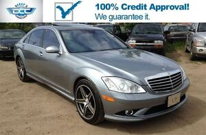 2007 Mercedes-Benz S-Class 5.5L V8 AWD!! Heated & Ventilated Sea
