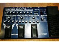 Boss ME-50B Bass Guitar Effects pedal