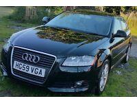 Audi A3, first registered Feb 2010