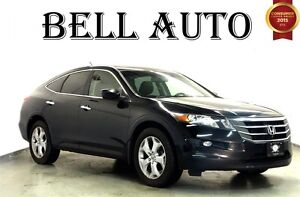 2010 Honda Accord Crosstour EX-L AWD SUNROOF LEATHER INTERIOR BL