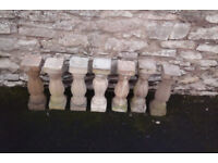 7 stone pillars