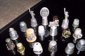Assortment of Collectors Thimbles