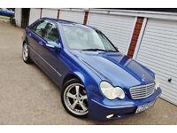 ## 2002 02 Mercedes C270 CDi Elegance SE Auto 1 Owner ##