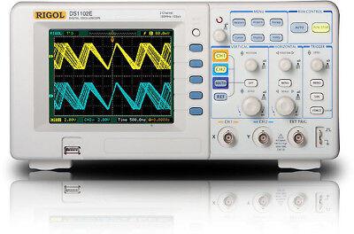 New Rigol Ds1102e Digital Oscilloscope 100mhz Us Authorized Dealer