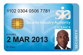 SIA Approved Security Training