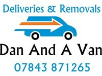 DAN AND A VAN REMOVAL SERVICE HOME MOVE HOUSE & DELIVERIES