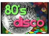 80s charity disco