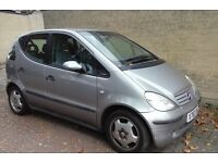 SPARES OR REPAIRS 2000 MERCEDES A-CLASS IT IS NOT INVOLVE IN ANY ACCIDENT, £150.00