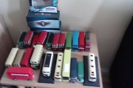 diecast buses collection 22