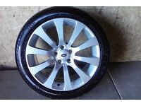 ALLOYS X 4 OF 20 INCH GENUINE RANGEROVER/DISCOVERY/AUTOBIOGRAPHY POWDERCOATED INA DUTCHSILVER NICE