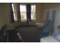NOW LET - First Floor Studio Flat Wood Rd Whalley Range £300pcm No DSS CHILDREN OR PETS