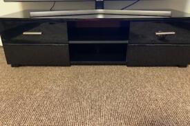 Black gloss tv unit (120 x 40 ) cm