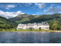 LIVE-IN Receptionist position with Lochs & Glens Holidays - FULL TIME