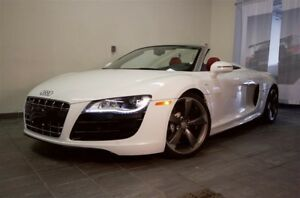 2011 Audi R8 Spyder 5.2 6sp man qtro | Cdn Car | Crbn Package |
