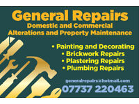 Builder and Handyman - general maintenance, Cambridge and surrounding villages