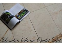 Perlato Cream Polished Marble Tiles 61x30cm