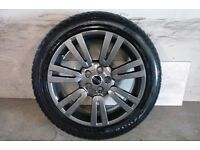 ALLOYS X 4 OF 20 INCH GENUINE RANGEROVER/DISCOVERY/FULLY POWDERCOATED IN A STUNNING NEW ANTHRACITE