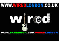 Herts based covers band Wired are looking for a new lead guitarist.
