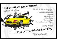End of life vehicle recycling