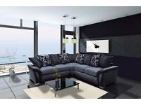 Luxury Shannon chennille fabric sofas/ 3+2 seater sofa sets or universal corner sofas FREE DELIVERY