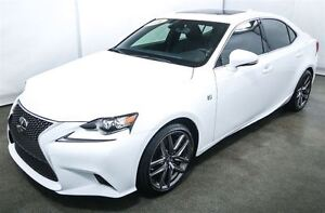 2016 Lexus IS 350 F SPORT SERIE 3 AWD NAVIGATION ANGLES MORTS