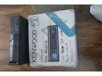 Have a kenwood stereo with mutie changer for sale still in box pick up only still brand new bletooth