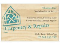 Local Carpenter - Carpentry, Fitting & Repairs - Windows, Hanging Doors, Laminate Flooring Fitters