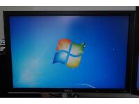 DELL 20.1 inch 2007WFP DVI PC computer monitor 1680x1050